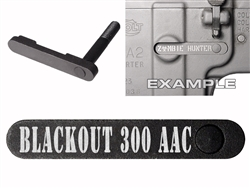 NDZ AR-15 SW 15-22 Black Magazine Catch Blackout 300 AAC