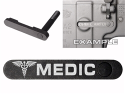 NDZ AR-15 SW 15-22 Black Magazine Catch EMT Star MEDIC