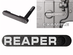 NDZ AR-15 SW 15-22 Black Magazine Catch Reaper