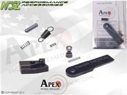 Apex for S&W M&P Duty/Carry Action Enhancement Trigger Job Kit DCAEK .45 ACP