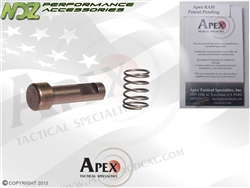 Apex for S&W M&P Tactical RAM Trigger Reset Assist Mechanism 9MM, .40, .357 No Thumb Safety