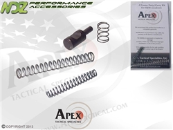 Apex for S&W M&P Tactical J-Frame Duty/Carry Trigger Spring Kit