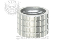 Backup Tactical Silver Frag Thread Protector for 1/2 x 28