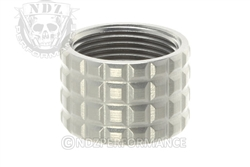 Backup Tactical Silver Frag Thread Protector for .578 x 28