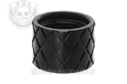 Backup Tactical Black Hash Thread Protector for 1/2 x 28