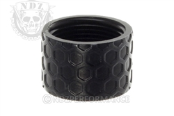 Backup Tactical Black Honey Comb Thread Protector for .578 x 28