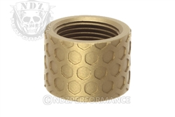 Backup Tactical FDE Honey Comb Thread Protector for 1/2 x 28