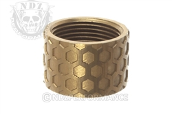 Backup Tactical FDE Honey Comb Thread Protector for .578 x 28