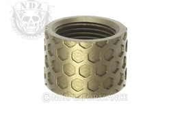 Backup Tactical ODG Honey Comb Thread Protector for 1/2 x 28
