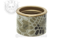 Backup Tactical Brown Kyrptek Thread Protector for 1/2 x 28