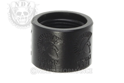 Backup Tactical Black Molon Labe Thread Protector for 1/2 x 28
