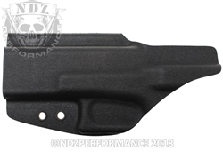 Bad Bones Tactical IWB Incognito Holster for Glock 19 & 23 Black