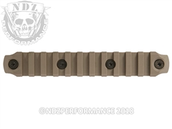 "BCM GUNFIGHTER AR-15 KeyMod Rail 5.5"" Nylon FDE"