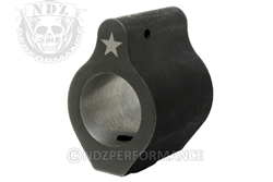 Bravo Company Black Gas Block for AR-15, M16, M4, M4A1