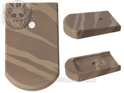Mag Plate Beretta 92 96 Brown Tiger Stripe