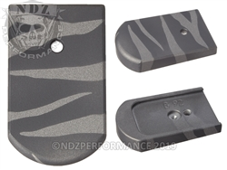 Mag Plate Beretta Black & Tungsten Tiger Stripe