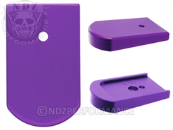 NDZ Purple Magazine Plate for Beretta 92, 96 & clones (*LZ)
