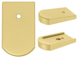 NDZ Gold Magazine Plate for Beretta 92, 96 & clones (*LZ)
