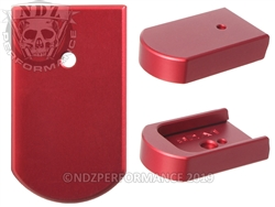 NDZ Red Magazine Plate for Beretta 92A1 96A1