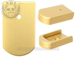 NDZ True Gold Magazine Plate for Beretta 92A1 96A1