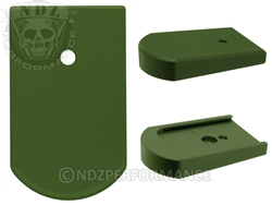 NDZ Green Magazine Plate for CZ CZ82, CZ83 (*LZ)