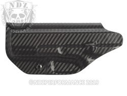 Concealment Express Glock Gen 1-5 19 19X 23 32 45 IWB Kydex RH User Adjustable Carbon Fiber