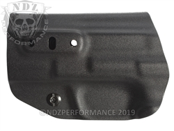 Concealment Express Smith & Wesson M&P 2.0 9/40 Compact & Fullsize IWB Tuckable Ambidextrous Kydex Holster Black