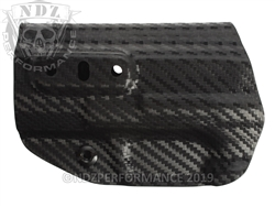 Concealment Express Smith & Wesson M&P 2.0 9/40 Compact & Fullsize IWB Tuckable Ambidextrous Kydex Holster Carbon Fiber