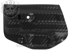 Concealment Express Smith & Wesson M&P Shield 9mm/.40 Tuckable Holster Carbon Fiber Ambidextrous