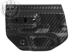 Concealment Express Smith & Wesson M&P Shield 45 ACP Tuckable Holster Carbon Fiber Ambidextrous