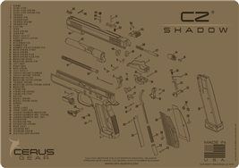 Cerus Gear Handgun CZ Shadow