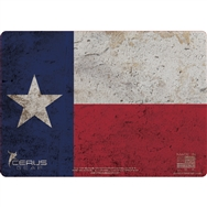Cerus Gear Pistol Mat Texas Flag Full Color Red White Blue