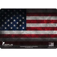 Cerus Gear Pistol Mat US Flag Full Color Red White Blue