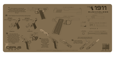 Cerus Gear Instruction 1911 Bushingless