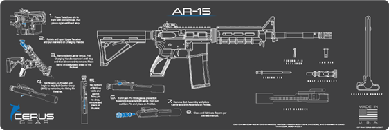 Cerus Gear Instruction AR-15
