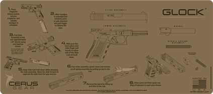 Cerus Gear Instruction Glock