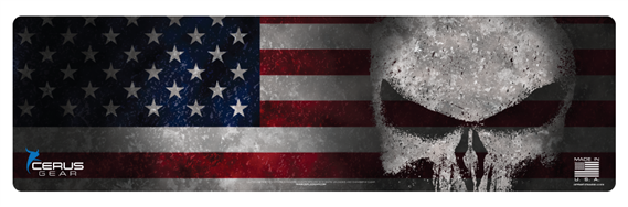 Cerus Gear Gun Mat Reaper US Flag Full Color Magnum Promat