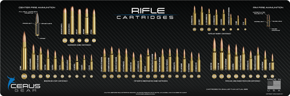 Cerus Gear Rifle Round Cartridges