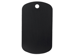 "NDZ Black Dog Tag Kit With 30"" Chain & Silencer (*LZ)"
