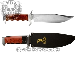 "Elkridge 12.5"" Full Tang Wood Hanlde Fixed Blade Knife ER012 (*LZ)"