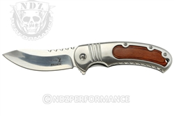"Elkridge 3.5 "" Spring Assisted Folding Pocket Knife ERA014LW (*LZ)"