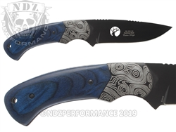 Elkridge Knife ER-200-09BL Fixed Blade