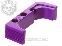 NDZ Purple Plus Magazine Release for Glock Gen 4 10MM .45