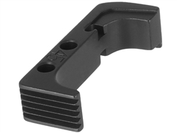 NDZ Black Standard Magazine Release for Glock Gen 4 10MM 45