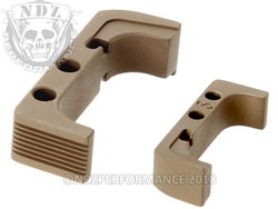 Aftermarket FDE Mag Release For Glock Gen 4 10MM 45 | NDZ Performance