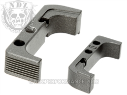 Aftermarket Tungsten Mag Release For Glock Gen 4 10MM 45 | NDZ Performance