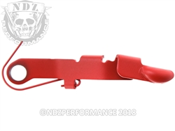 Ghost USMC Red Bullet Slide Release for Glock Gen 1-4