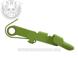 Ghost Zombie Green Bullet Slide Release for Glock Gen 1-4