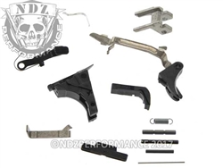 Glock OEM 9MM No Magazine Lower Internal Parts Kit for Glock Gen 1-3