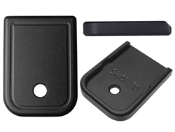 NDZ Black Magazine Plate for Glock 10mm .45 (*LZ)